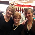 One of the Abingdon Press Quilts of Love authors, Carolyn Zane, with me and our agent, Sandra Bishop – ACFW 2013