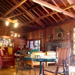 The coffee shop at Mt. Hermon provides a restful place to write and brainstorm.